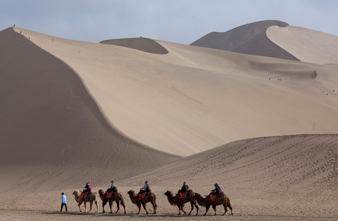 Courtesy of LandRover MENA. The Journey To Beijing