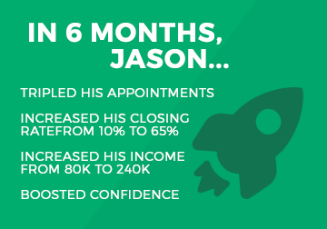 jason results of 2x group sales process